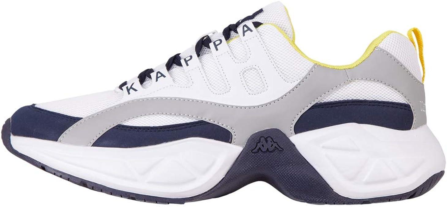 Kappa Overton, Zapatillas Unisex Adulto, Azul (Navy/L`Grey 6714), 37 EU: Amazon.es: Zapatos y complementos