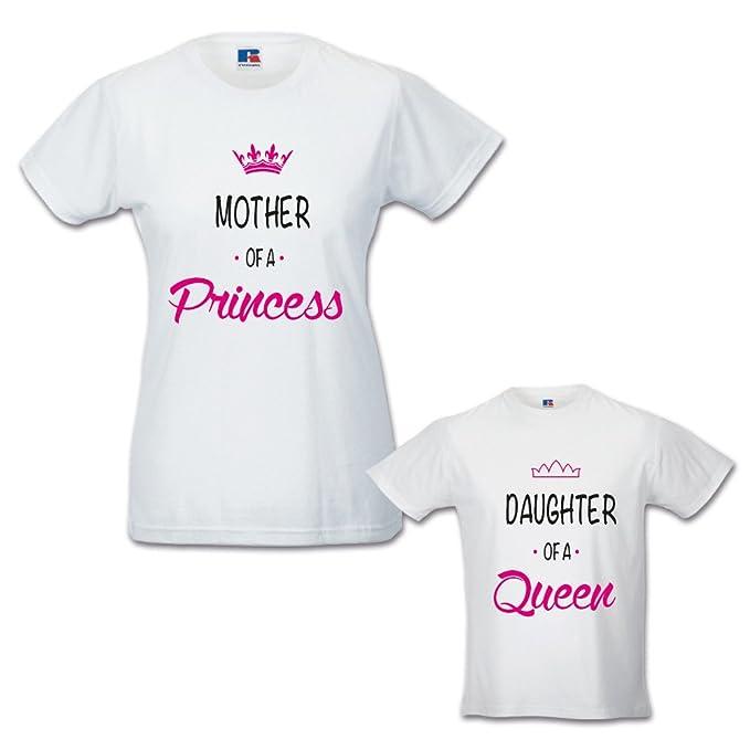 Babloo Coppia di T-Shirt Magliette Mamma E Figlio//Figlia Idea Regalo Festa della Mamma Copia Incolla