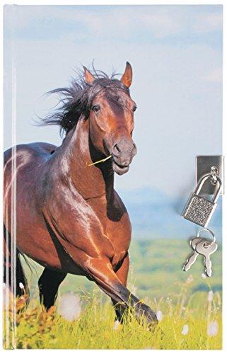 'Diario Segreto con Lucchetto/motivo: cavalli  Livepac-Office