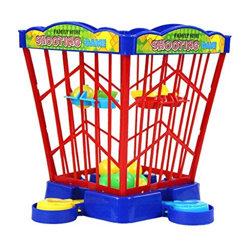 【ノーブランド品】家族 ミニバスケットボール シューティングゲーム フィンガープレイ 子供 おもちゃ 贈り物の商品画像