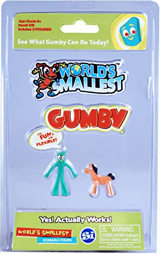 Worlds Smallest Gumby and Pokey