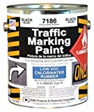 Traffic Marking Paint, Black, 1 gal.
