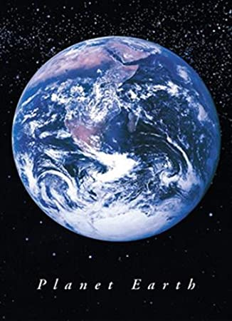 Amazon.de: 1art1 741 Planet Erde - Der Blaue Planet Poster (91 x 61 cm)