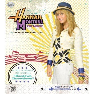 Hannah Montana: The Movie 2010 Musical Sound Wall Calendar