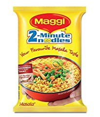 Need a quick meal on the go? Reach for Maggi Masala Noodles! Maggi is spreading happiness with its instant, tasty, and healthy noodles. Bringing you a classic snack directly from India. 2-Minute Masala Noodles are perfectly convenient for the...
