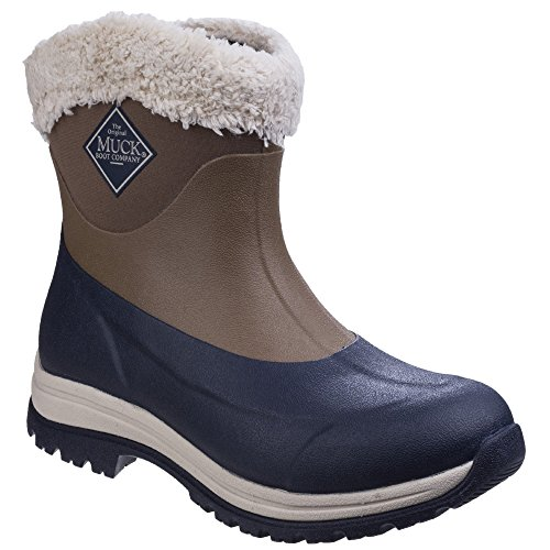 Muck Boot Unisex Arctic Apres Slip On Casual Winter Boots (8 M US / 9 W US) (Otter/Total Eclispse) ()