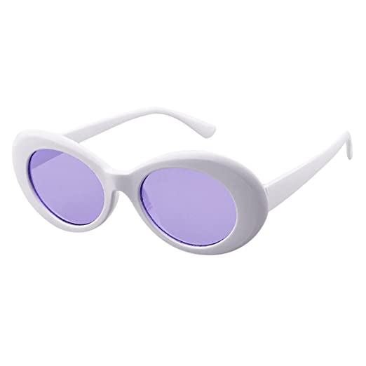 ccb3ae3acf Retro Vintage Clout Goggles Unisex Sunglasses Rapper Oval Shades ...