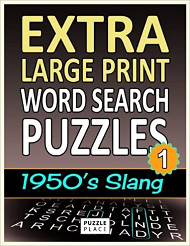 Amazon Extra Large Print Word Search Puzzles