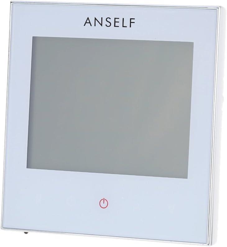 Galapara Programmierbar Raumthermostat,Digital Thermostat Raumthermostat Thermostat Heizung programmierbare LCD-Display Touchscreen f/ür Fu/ßbodenheizung Wasserheizung 5A 110-230 V