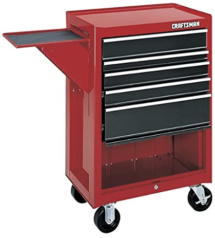 Amazon.com: Craftsman 9-65201 Red/Charcoal 5 Drawer Roll Away ...