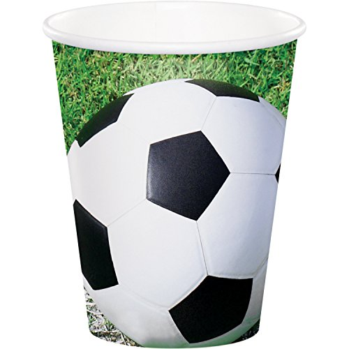 Soccer Cups, 24 Count by Creative Converting