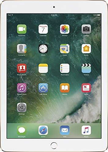 Price comparison product image Apple iPad Air 2 MNV72LL/A 9.7-Inch 32GB Wi-Fi Tablet (Gold) (Certified Refurbished)