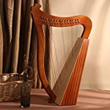 Celtic Irish Harp 15 Strings with Tuning Wrench and