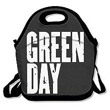 NaDeShop Green Day Punk Band Lunch Bag Tote