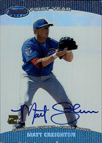 Mdc Card - 2004 Bowman's Best #MDC Matt Creighton FY RC Autograph Card