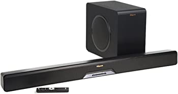 Klipsch Reference 2.1-Channel Sound Bar with Wireless Subwoofer