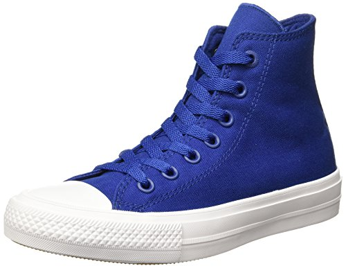 Converse All Star Chuck Taylor Hi II Trainers Blue 150146C, Size:37.5