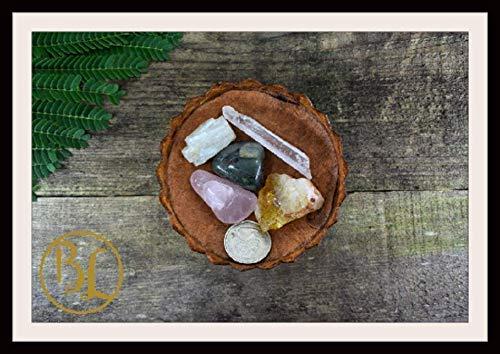LIBRA Gemstone Kit 5 Zodiac Libra Gemstones Set Healing Crystals Healing Zodiac Libra Intention Set Lithiotherapy Libra Crystals Stones Set