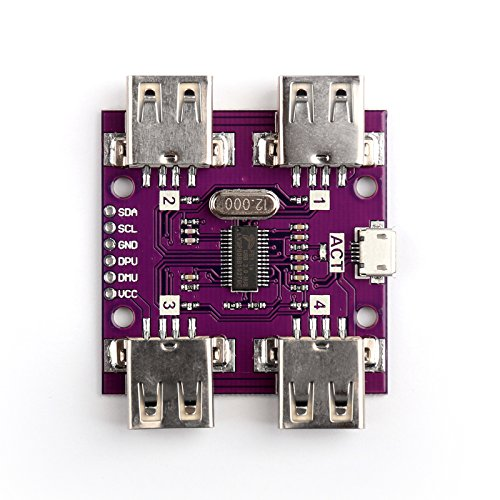 Areyourshop 1Pcs CJMCU-204 USB 2.0 HUB 4-Port USB High Speed Controller Module For Arduino