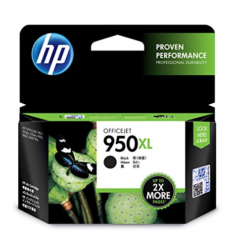 HP 950XL Office Jet Ink Cartridge  Black
