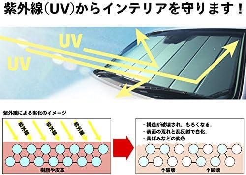 UV11577RO Rose Fits 2018-2020 Toyota Tacoma Without GoPro Mounted to Windshield Covercraft UVS100 Custom Sunscreen