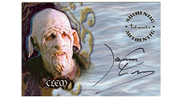 James Leary Clem Buffy The Vampire Slayer Autograph