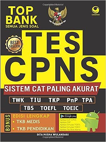 Top Bank Semua Jenis Soal Tes Cpns Sistem Cat Paling Akurat