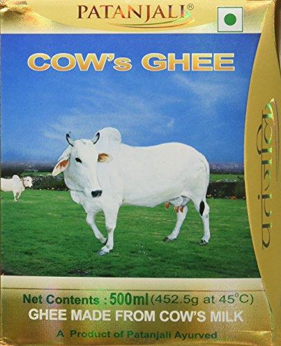 Patanjali Cows Ghee, 500ml - Buy Online in Kuwait