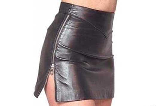 Leather Skirt Classic Design Side Zip Mini Skirt Sexy Tight Fit ...