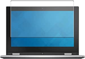 Puccy Tempered Glass Screen Protector Film, compatible with Dell Inspiron 11 3000 (3157) 2-in-1 11.6