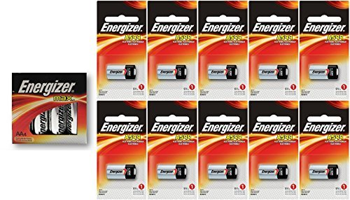 10 Energizer A544 6-Volt Batteries With 4 Energizer AA Max Batteries
