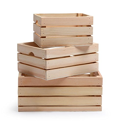10 best wood crate set of 3