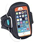 Armband Compatible With iPhone SE 5 5s 5c 4s 4 Fits With OtterBox/Larg Cases [Black]