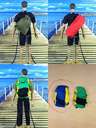 Action Figure Backpack - 1