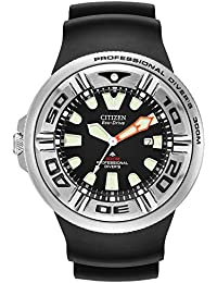 Mens Eco-Drive Promaster Diver Watch with Date, BJ8050-08E