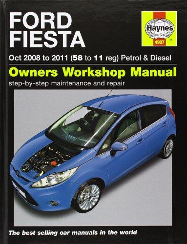 Ford Fiesta Petrol & Diesel (08-11). John S. Mead (Haynes Service and Repair Manuals)