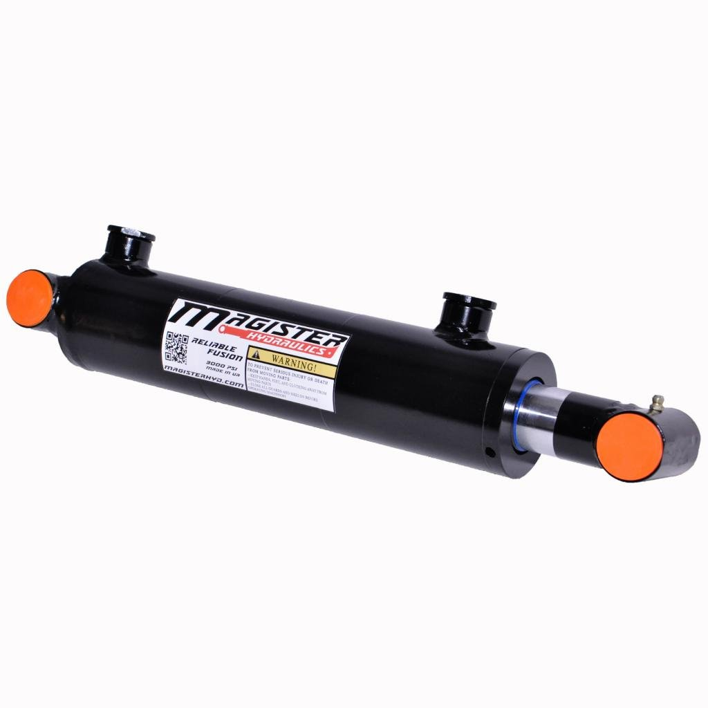Hydraulic Cylinder Welded Double Acting Cross Tube (2.5x16)