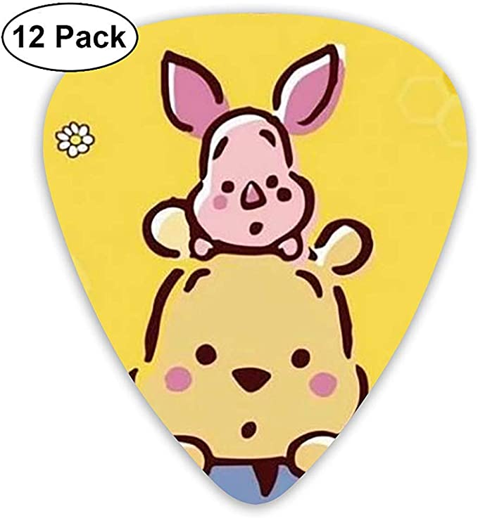 Winnie The Pooh Guitar Picks Custom Fashion 12 Pack Picks para instrumentos musicales: Amazon.es: Instrumentos musicales