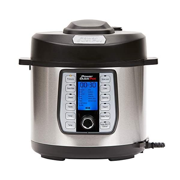 Power AirFryer XL Cooker773 Pressure Cooker, 10 Qt, stainless steel 1