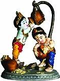 Adorable Krishna Balaram Butterthief Statue