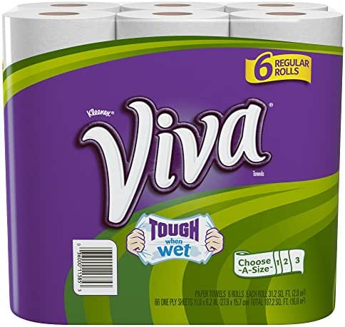 Paper Towels: Viva Tough When Wet