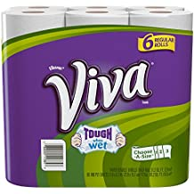 Viva Paper Towels, Choose-A-Size, Regular Roll, 6 Count