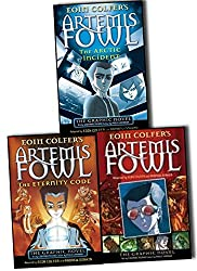 Artemis Fowl Graphic Novel 3 Books Collection By Eoin Colfer Andrew Donkin Pack Set (Artemis Fowl: The Graphic Novel, Artemis Fowl: The Eternity Code Graphic Novel, Artemis Fowl: The Arctic Incident Graphic Novel)