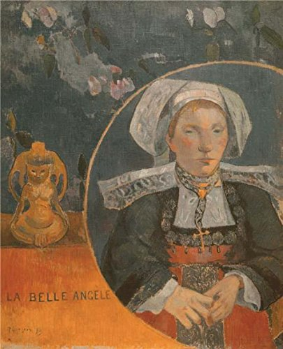 Los Angeles Angels Uniforms (Oil Painting 'The Beautiful Angel (Madame Angele Satre, The Innkeeper At Pont-Aven), 1889' Printing On Perfect Effect Canvas , 12x15 Inch / 30x38 Cm ,the Best Living Room Decoration And)
