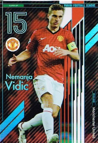 [Panini Football League Nemanja Vidic] / Manchester United FC SP