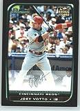 2008 Bowman Draft Baseball Cards # BDP9 Joey Votto (RC - Rookie Card) Cincinnati Reds - MLB Baseball Trading Card