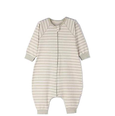 CWLLWC Saco de Dormir para bebé,Primavera y otoño algodón Fino Pierna Dividida Algodón Transpirable