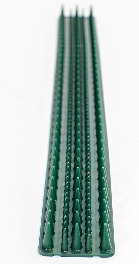 Primrose Tira de púas para vallas y muros - Verde x30 Unidades