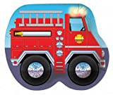 Creative Converting Firefighter Truck Shaped Paper Plates, 9 Inch, 8 Count (Pack of 3)