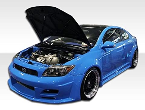 2005-2008 Scion tC Duraflex Touring Wide Body Body Kit - 8 Piece - Includes Touring Wide Body Front Bumper (103041) Touring Wide Body Rear Bumper (103043) Touring Wide Body Side Skirts (103042) Touring Wide Body Fender Flares - 8 Piece - Aero Kit Side Skirts
